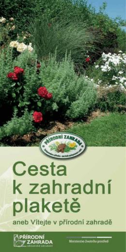 Ukázková přírodní zahrada
