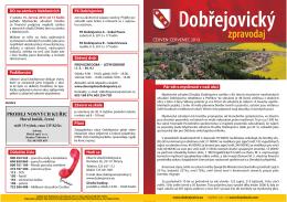 Dobřejovický - Obec Dobřejovice