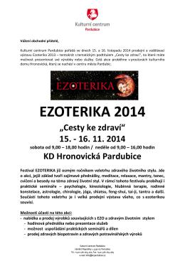 PODMÍNKY pro vystavovatele - Kulturní centrum Pardubice