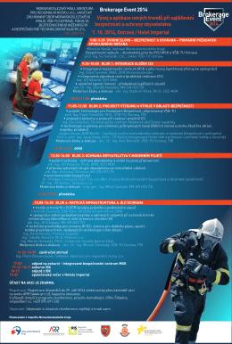 Oficiální pozvánka Brokerage Event 2014