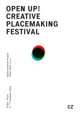 open up! creative placemaking festival
