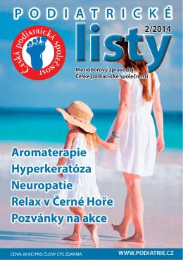 stáhnout toto číslo - Česká podiatrická společnost os