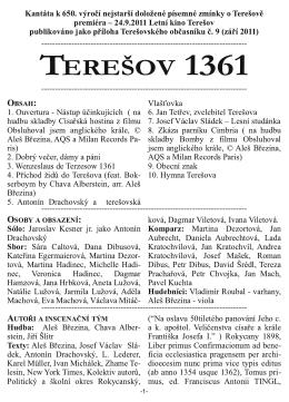 Terešovský občasník 3/24.9.2011 – Příloha Kantáta