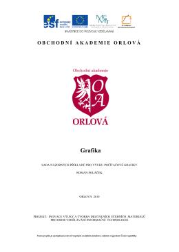 Výukový materiál - Obchodní akademie Orlová