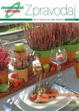 Podzim 2010 - Zahradnictví Chládek