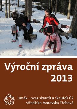 Výroční zpráva 2013, Junák MT