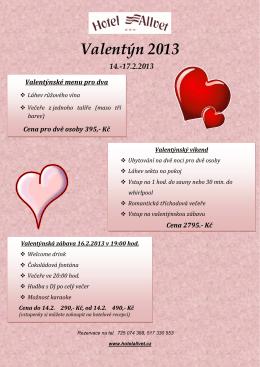 Valentýn 2013 - hotel Allvet