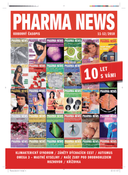 LET S VÁMI - pharma news