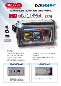 HD Compact STC DVB-S/S2/C/T/T2