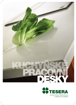 katalog kuchyňských desek