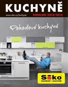 Stáhnout katalog Kuchyně 2014