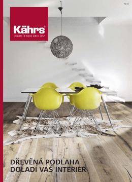 Dřevěné podlahy Kahrs