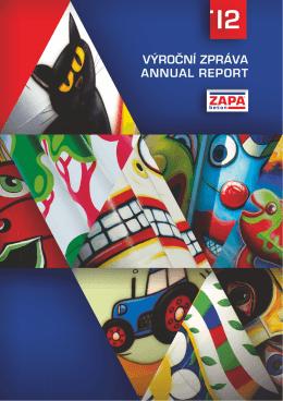 ZAPA beton - Výroční zpráva / Annual report 2012