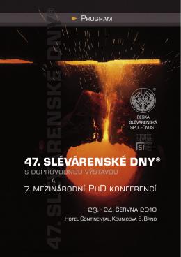 47. SLÉVÁRENSKÉ DNY® - ta