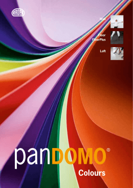 PANDOMO ® Colours
