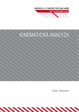 Kinematická analýza - pokrok