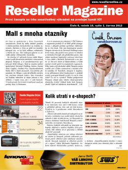 Mall s mnoha otazníky - Reseller Magazine Online