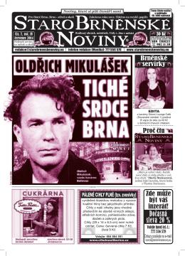 oldřich MikulášEk - StaroBrněnské noviny