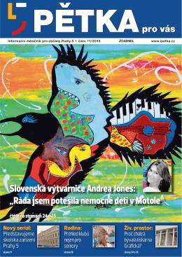 """Slovenská výtvarnice Andrea Jones: """"Ráda jsem"""