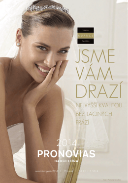 Svatební magazín 2014