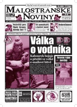 Zde - Malostranské noviny