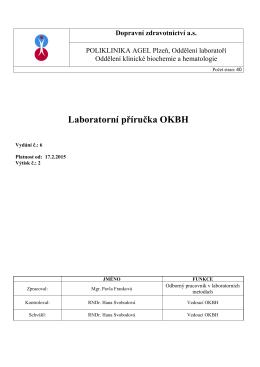 laboratorní příručka OKBH v6 v 2