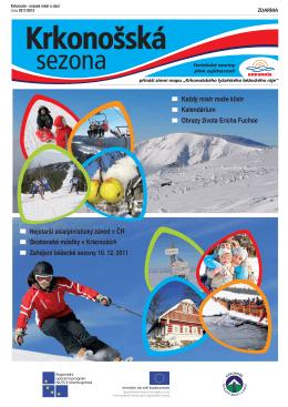Krkonošská sezona zima 2012 (CZ)