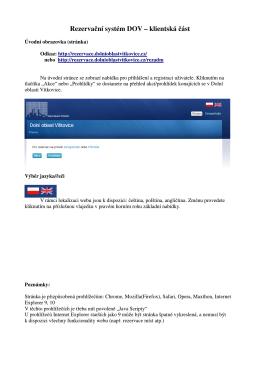 Pomoc - Dolní oblast Vítkovice