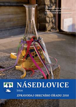 Vesnice roku 2010 - Obec Násedlovice