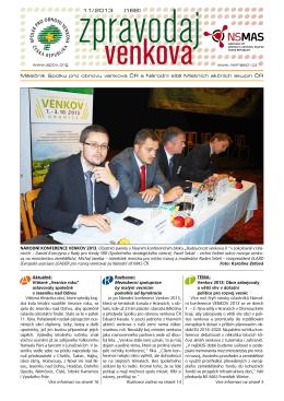 11/ 2013 (188) - SPOV - Spolek pro obnovu venkova