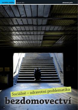 Andrea Pekárková: Sociálně-zdravotní problematika bezdomovectví
