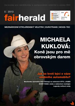 MICHAELA KUKLOVÁ: