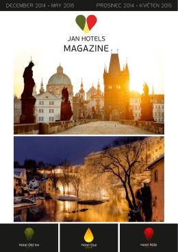 Stáhnout Jan Hotels Magazine