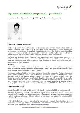 profil - Česká asociace koučů