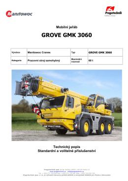 GROVE GMK 3060