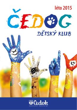 Klubová brožura - Dětský klub Čedog