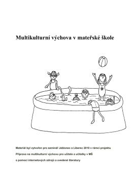 Multikulturní výchova v mateřské škole