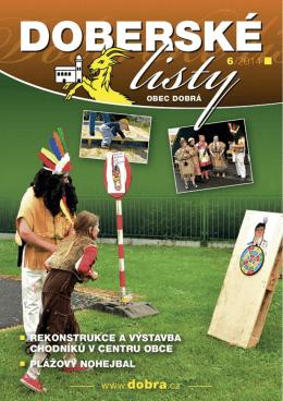 Doberské listy - červen 2014