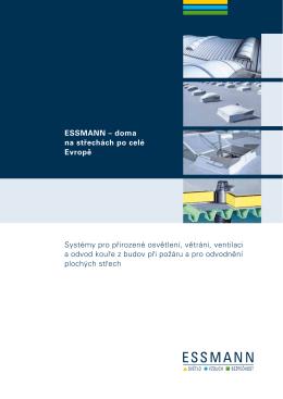 ESSMANN – doma na střechách po celé Evropě Systémy pro