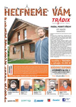 Jiří Macek - fasáda, podbití střechy