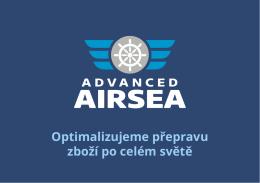 Leták – služby Advanced AIRSEA