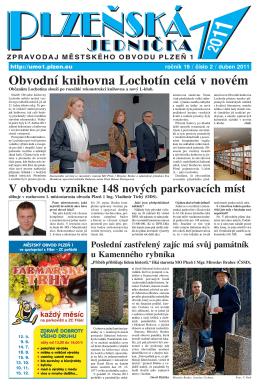 duben 2011, 8 stran (PDF, 2 MB) - Plzeň 1