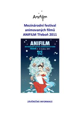Závěrečná zpráva Anifilm 2011