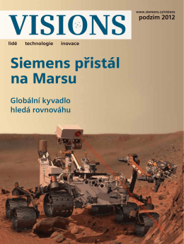 Siemens přistál na Marsu