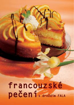 Kuchařka Francouzské pečení s droždím FALA ke