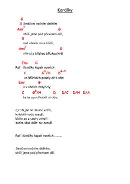 Korálky - silentium 24