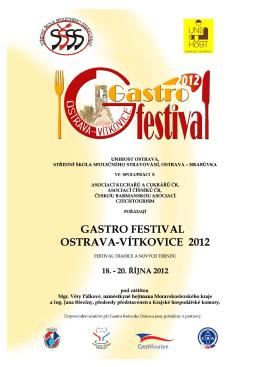 gastrofestival propozice