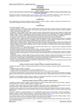 (1§) Obsah a text 372/2001 Sb. - poslední stav textu