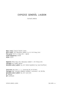 EXPOZICE GENERÁL LAUDON