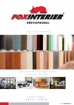 katalog produktu foxinterier 2013-2016